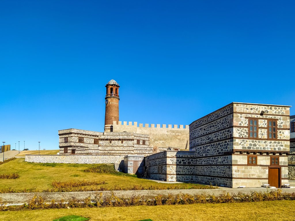 Турция Эрзурум Крепость