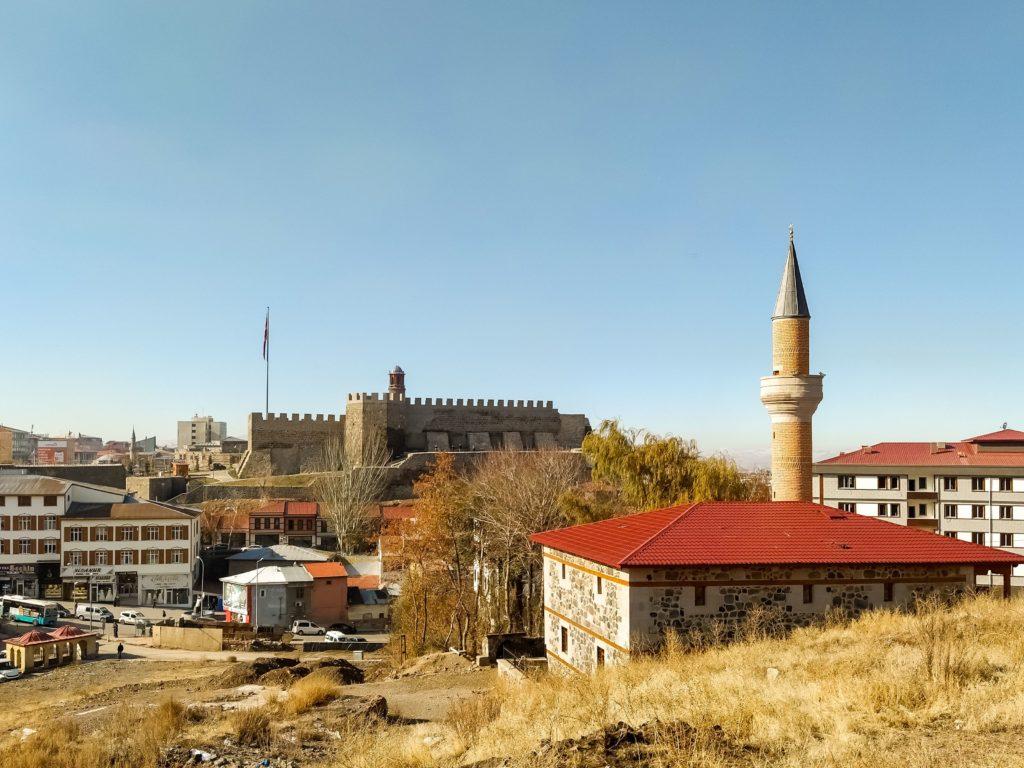 Турция Эрузурум крепость