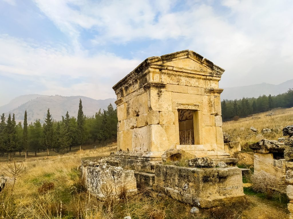 Турция Памуккале Иераполис