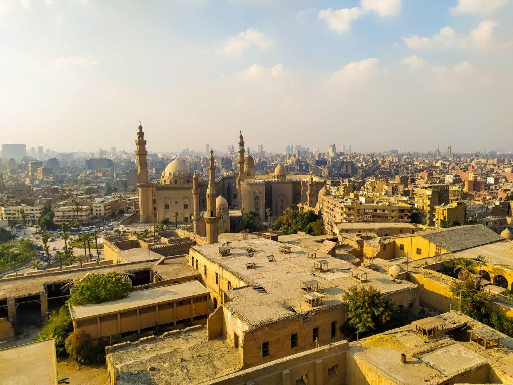 Египет Каир вид сверху
