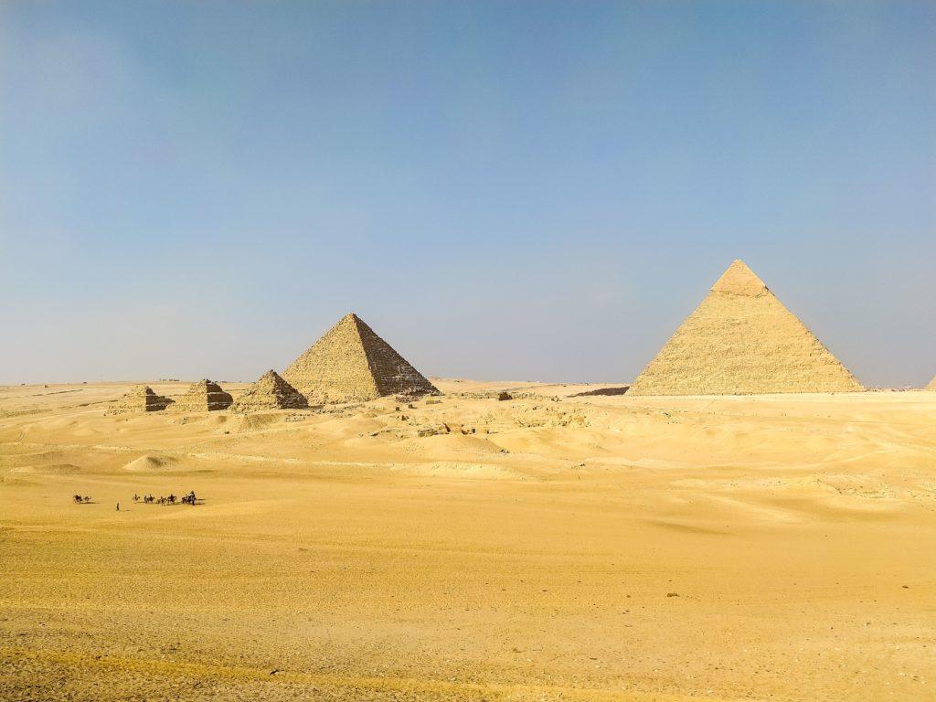 Пирамиды Гизы Сфинкс