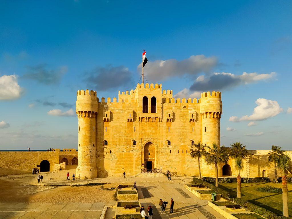 Александрия Египет Крепость