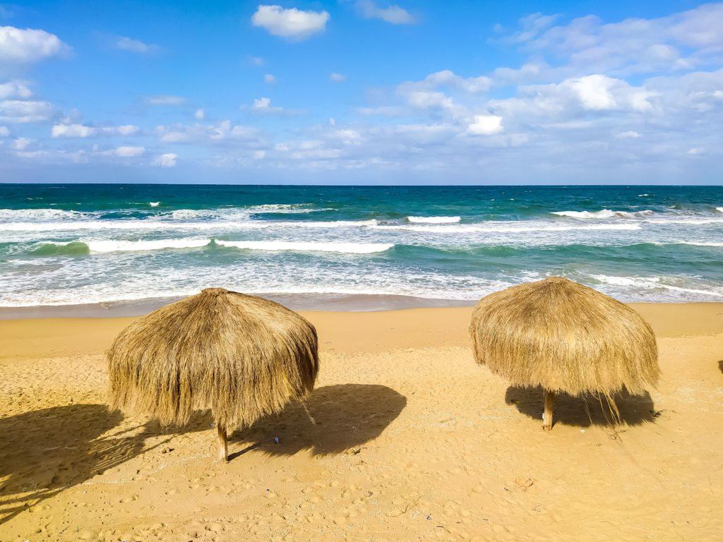 Александрия Египет море