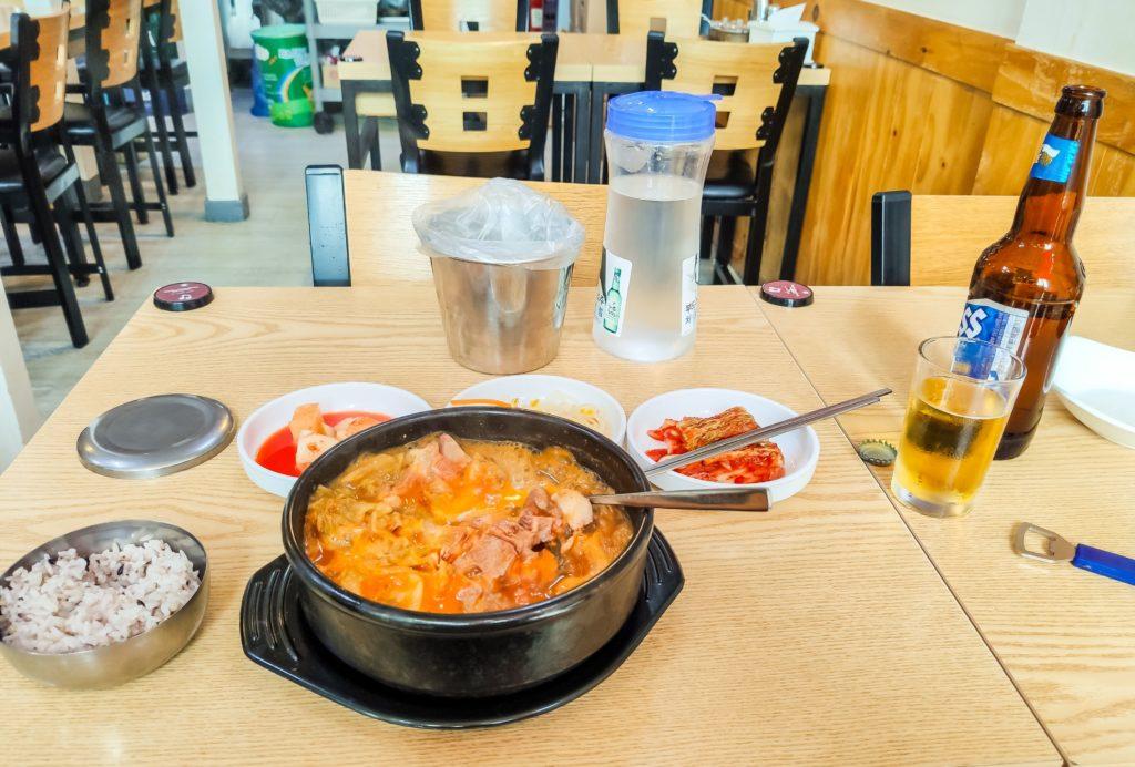 Сеул еда