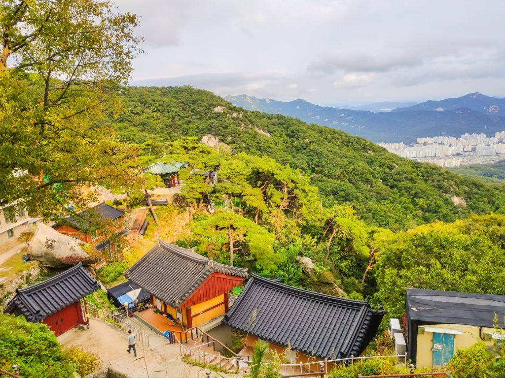 Сеул горы