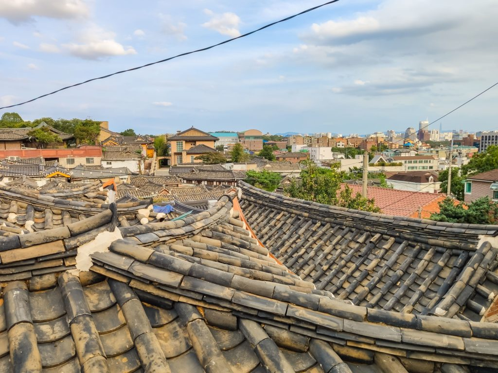 Крыши Сеула