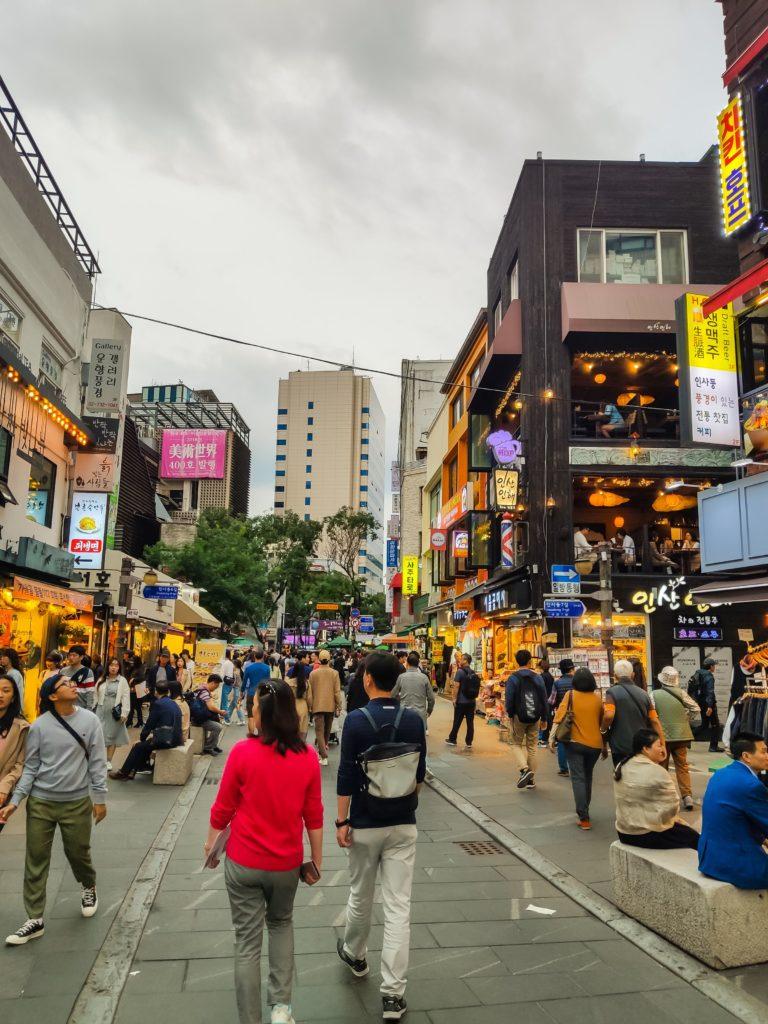Сеул центро города