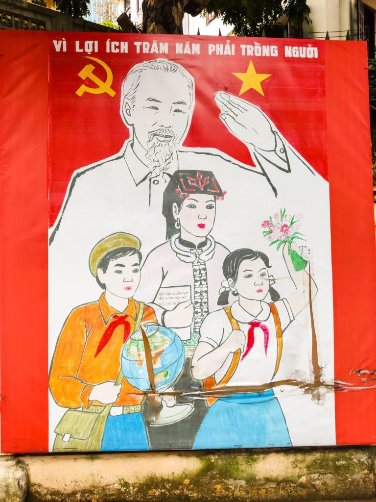 Хо Ши Мин плакат