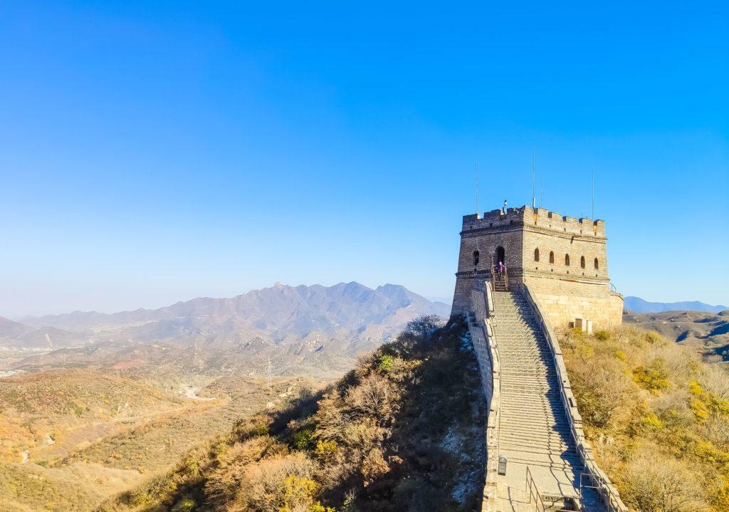 Как строили Великую китайскую стену? Стена