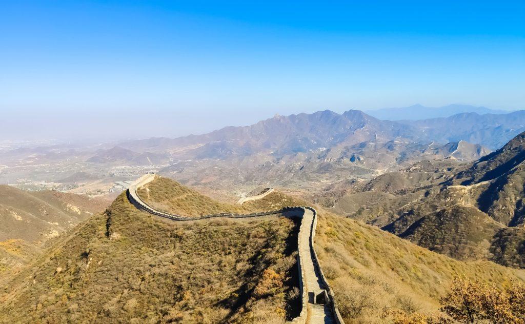 Как строили Великую китайскую стену? Китайская стена