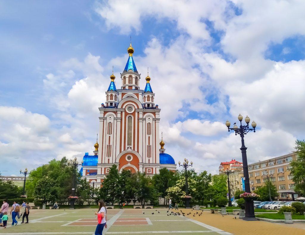 Хабаровск успенский собор
