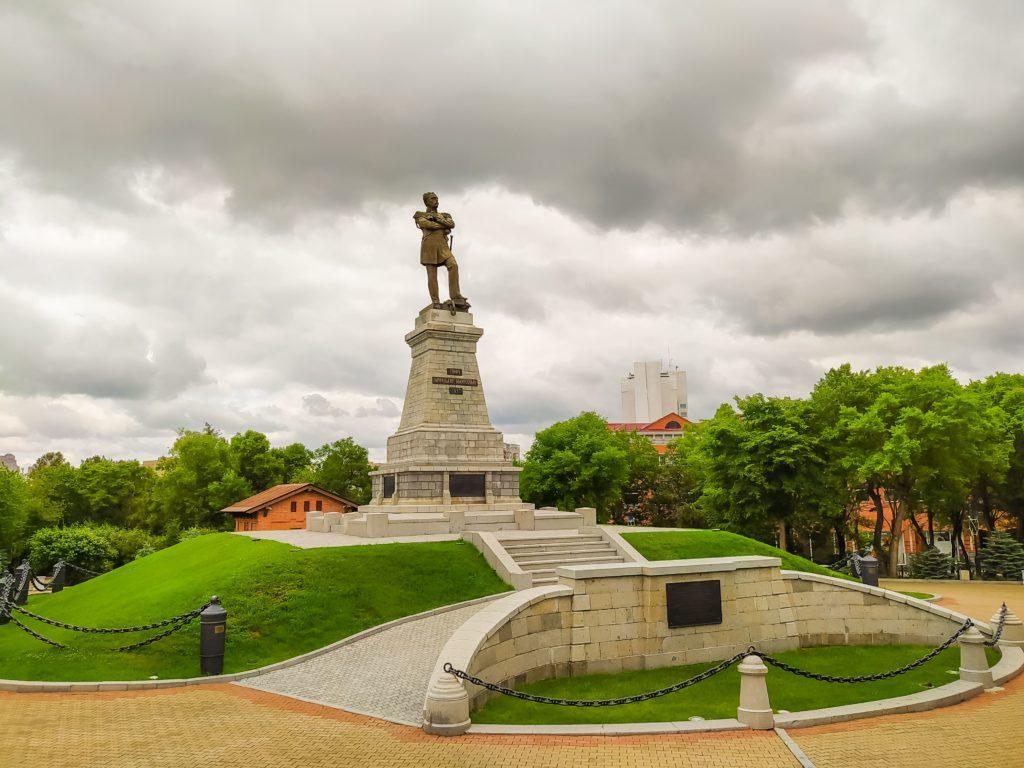 Хабаровск Памятник Муравьёву