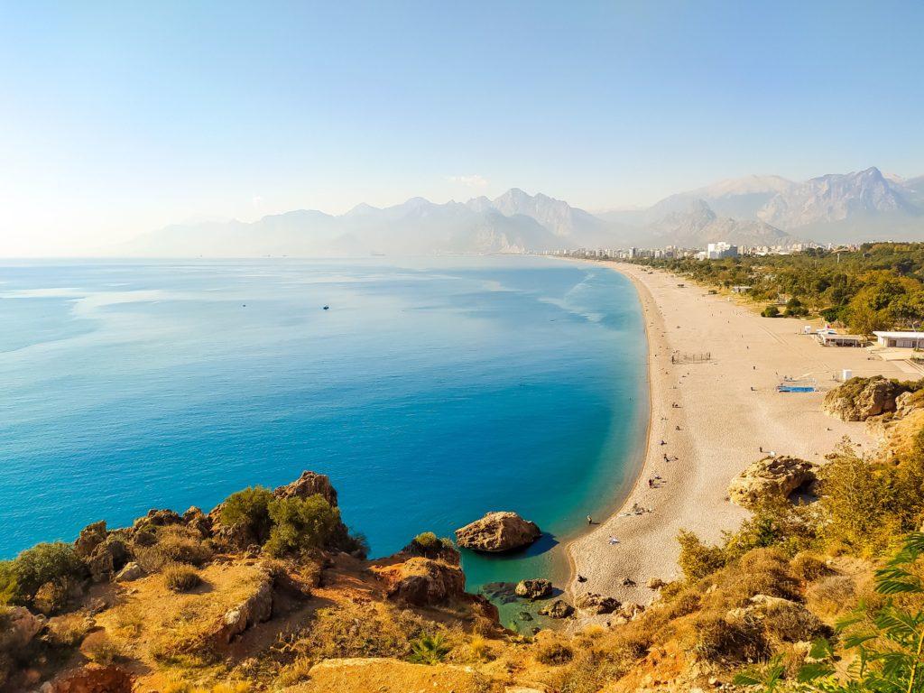 Анталия пляж