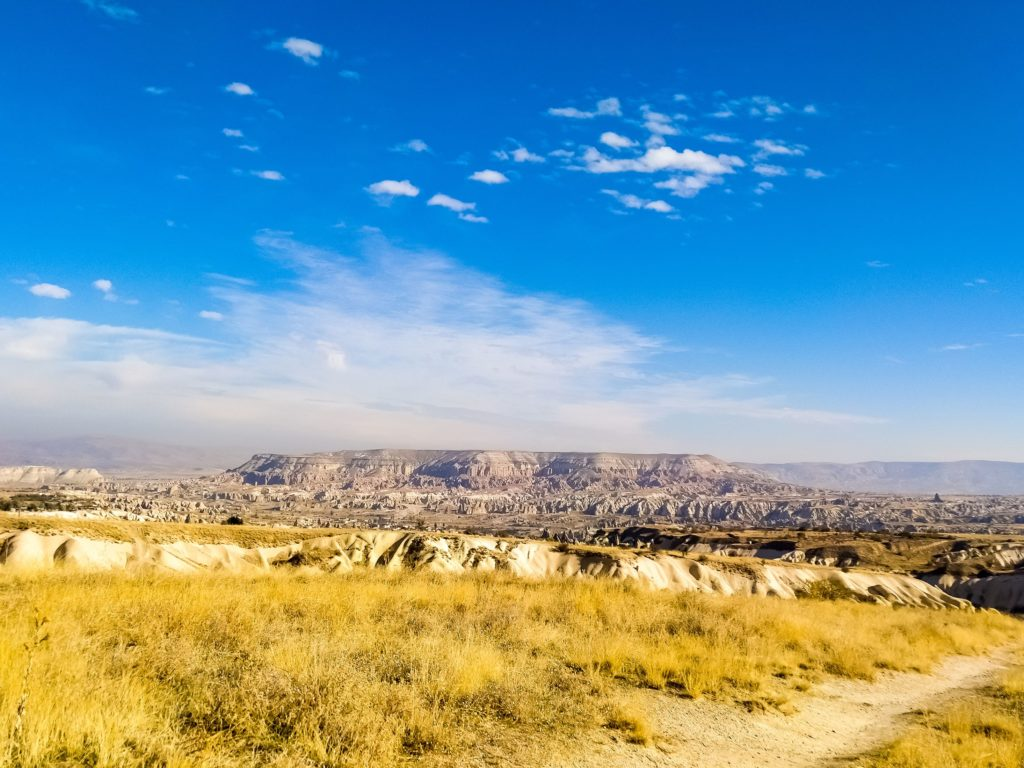 Вид на долину Каппадокии