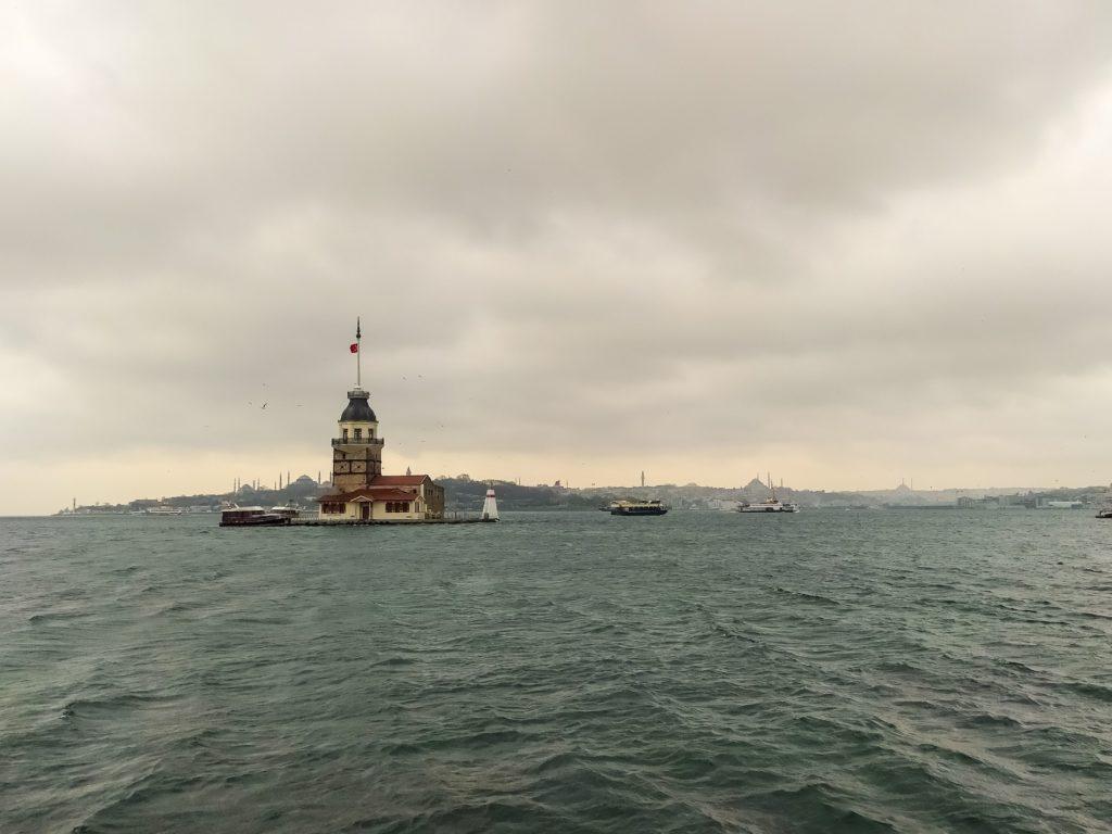 Стамбул Девичья башня