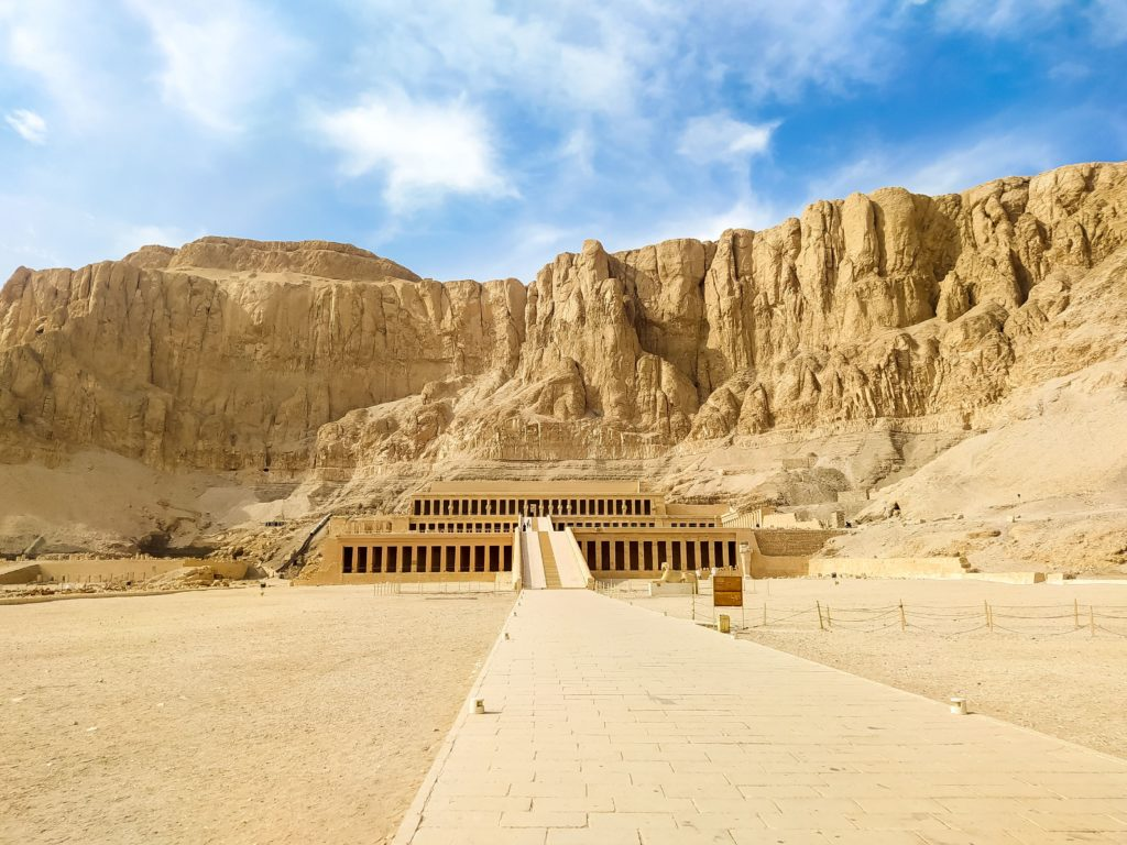 Луксор Храм Хатшепсут