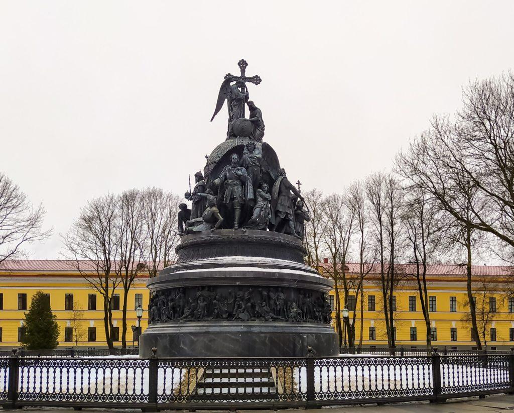Великий Новгород памятник тысячелетия России