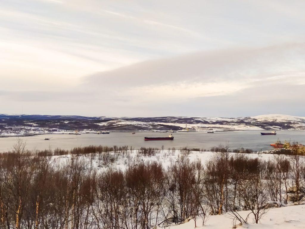 Мурманск кольский залив