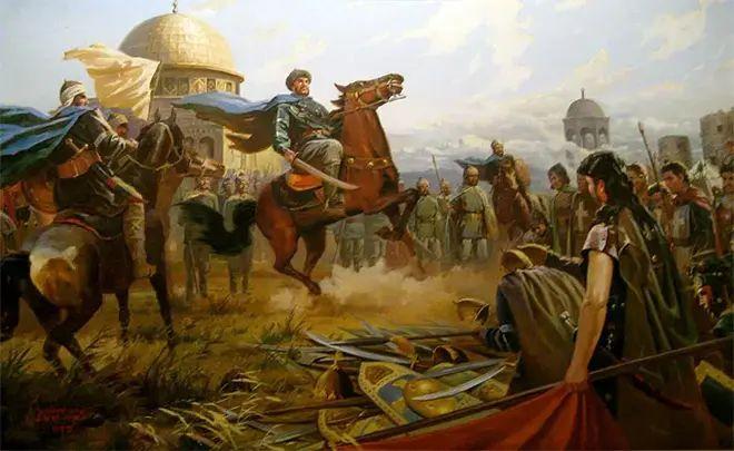 саладин в Иерусалиме