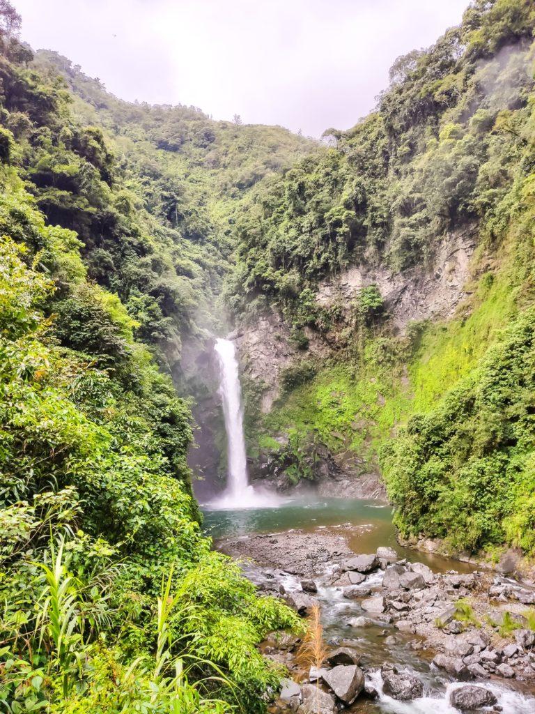 Рисовые террасы в Бануэ водопад