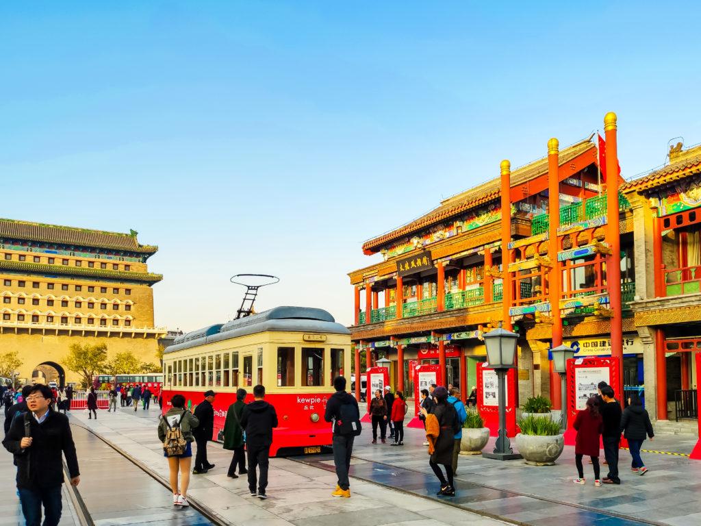 Пекин трамвай