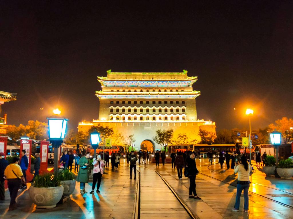 Пекин ночь