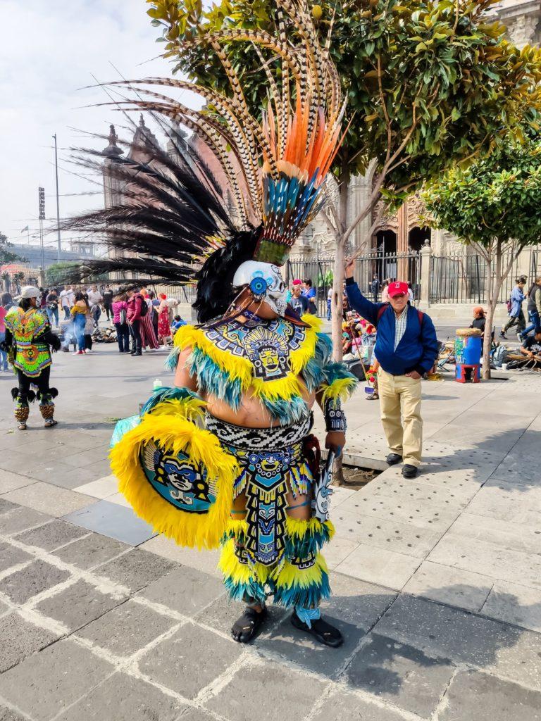 Индеец Ацтек
