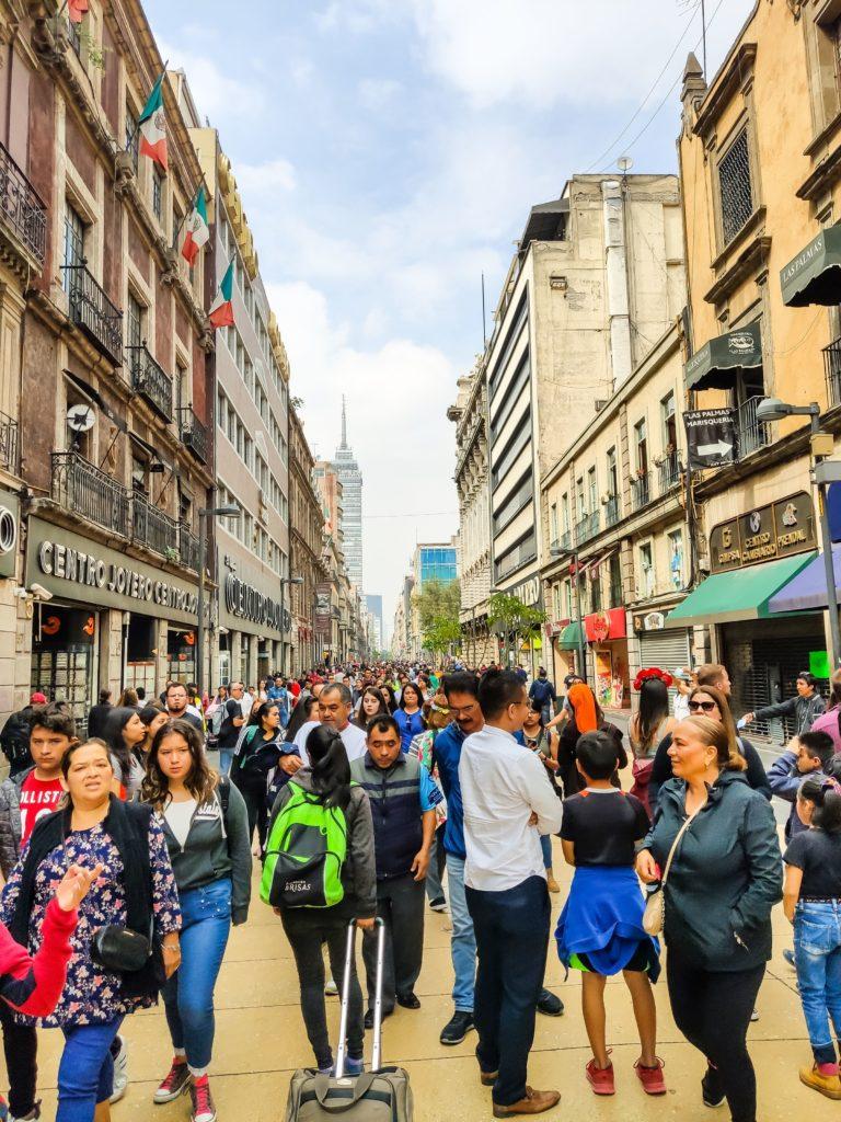 Мехико авенида 5