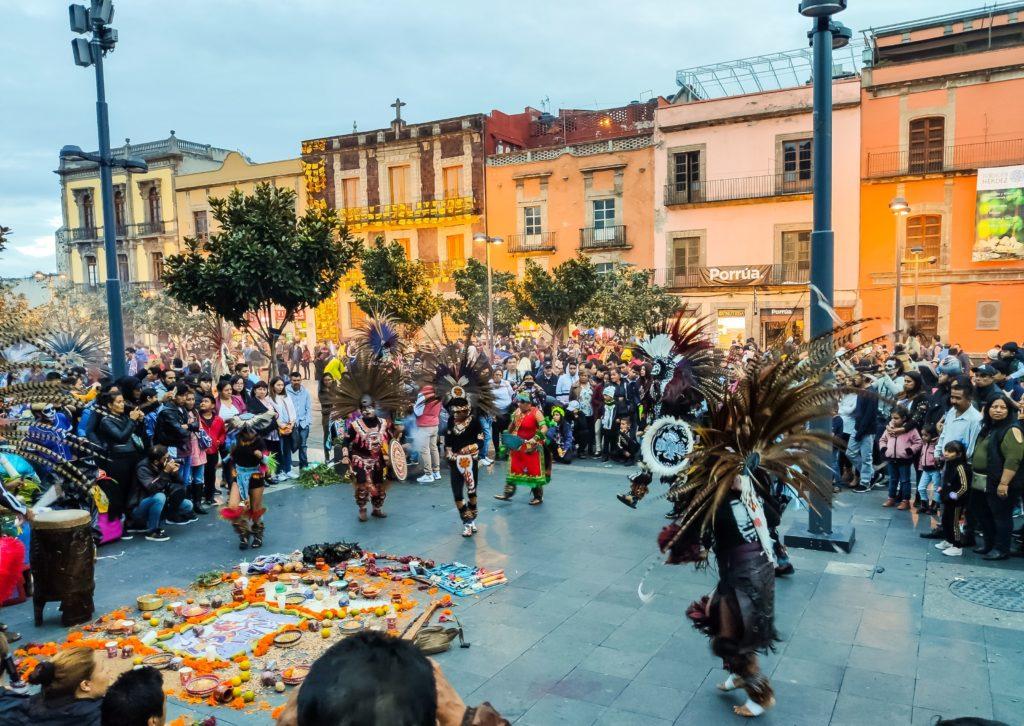 Мехико танцы индейцев