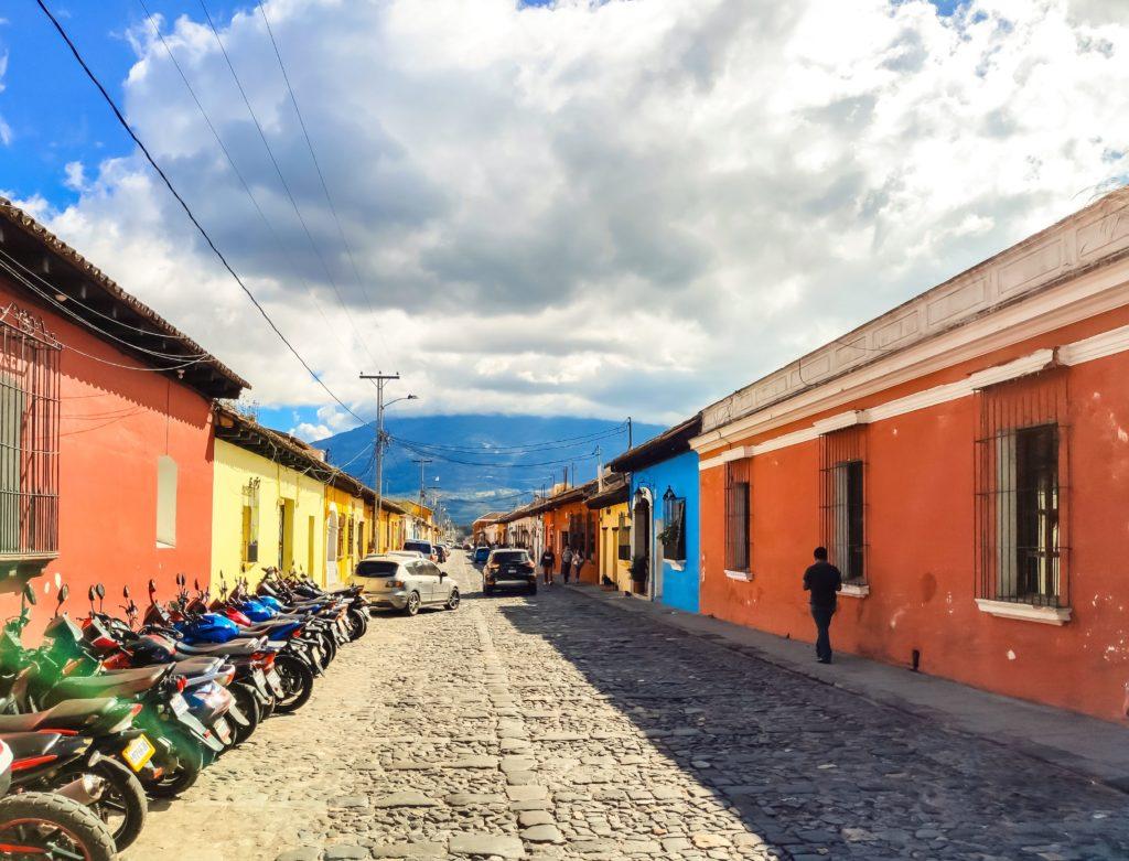 Антигуа Гватемала улицы