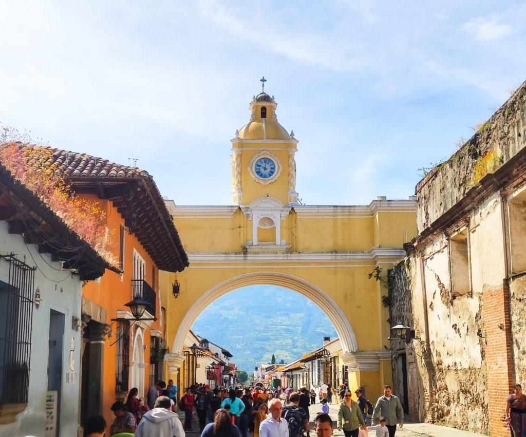 Антигуа Гватемала Арка Каталины