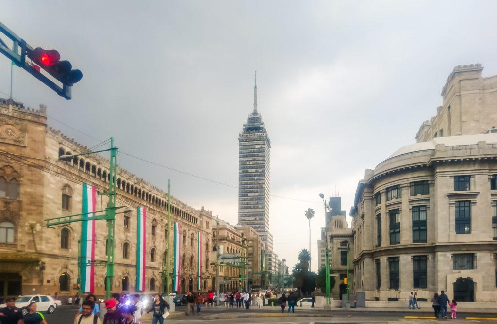 Мехико латиноамериканская башня
