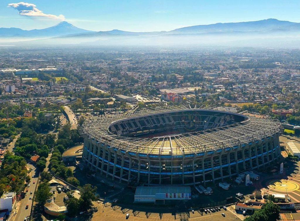 Факты о Мехико. Стадион Ацтеко