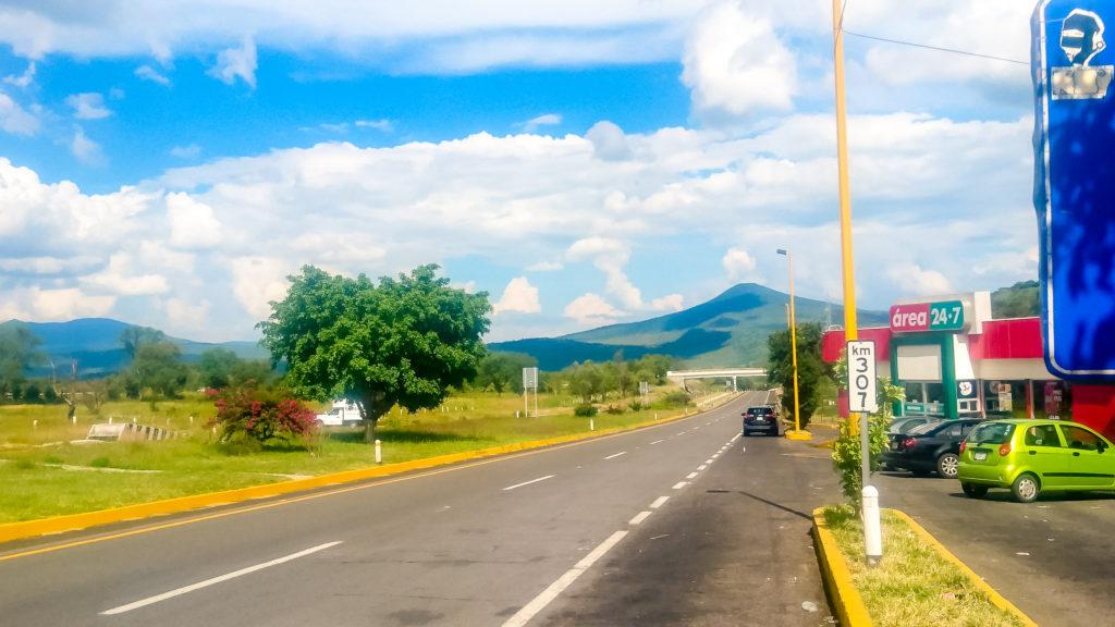 Маршрут по Мексике Трасса