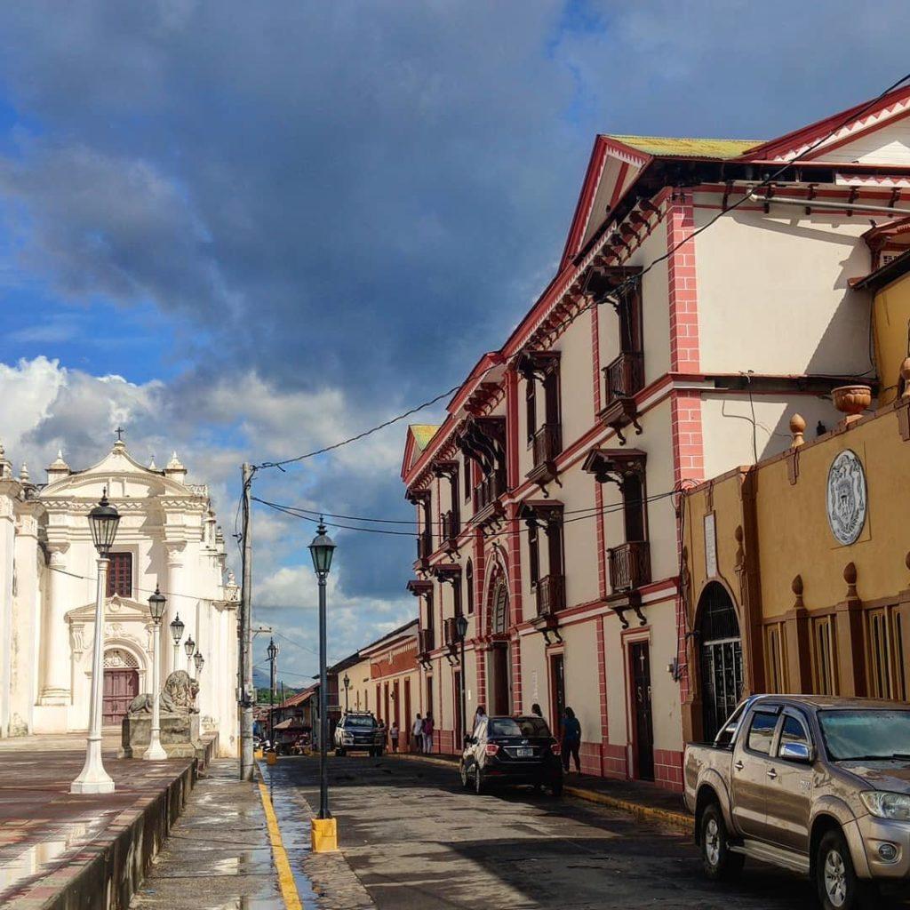 Улицы города Леон