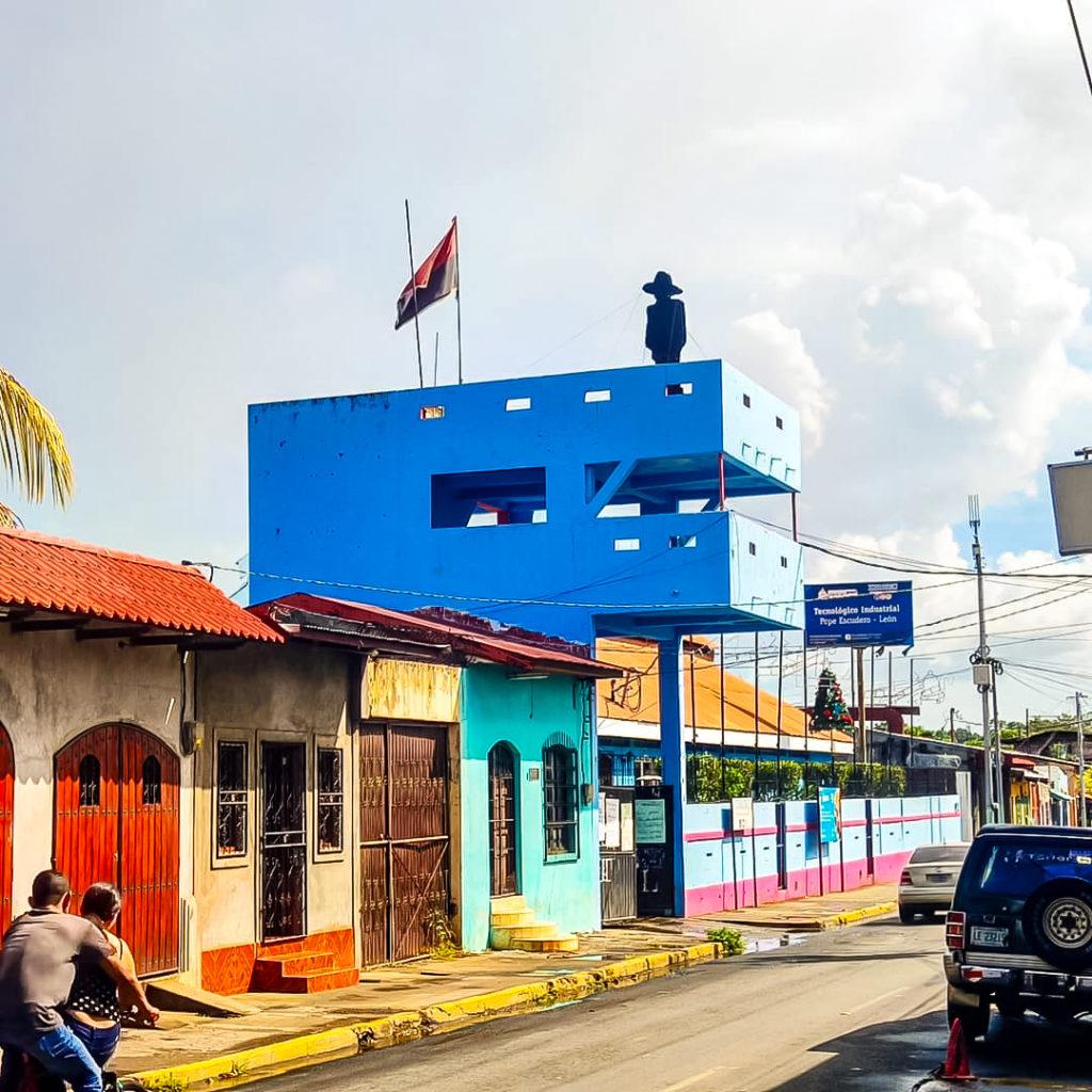 Никарагуа город Леон