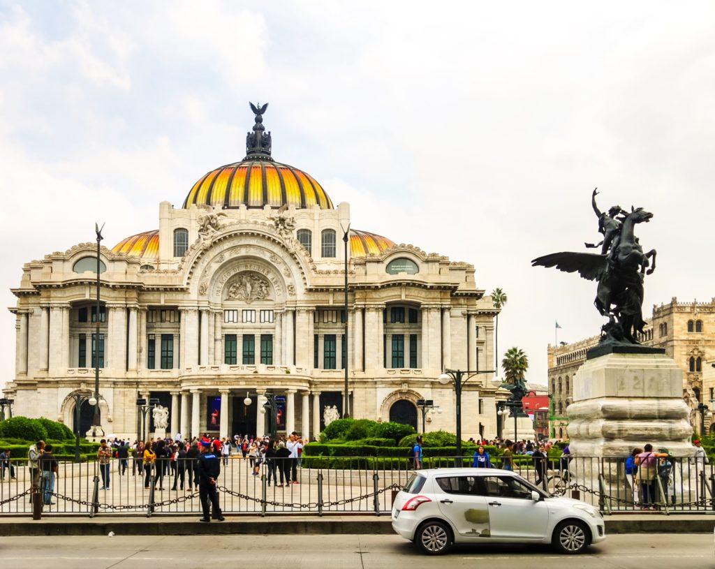 Маршрут по Мексике Мехико