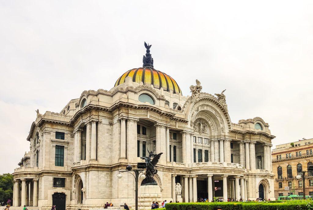 Мехико Дворец изящных искусств
