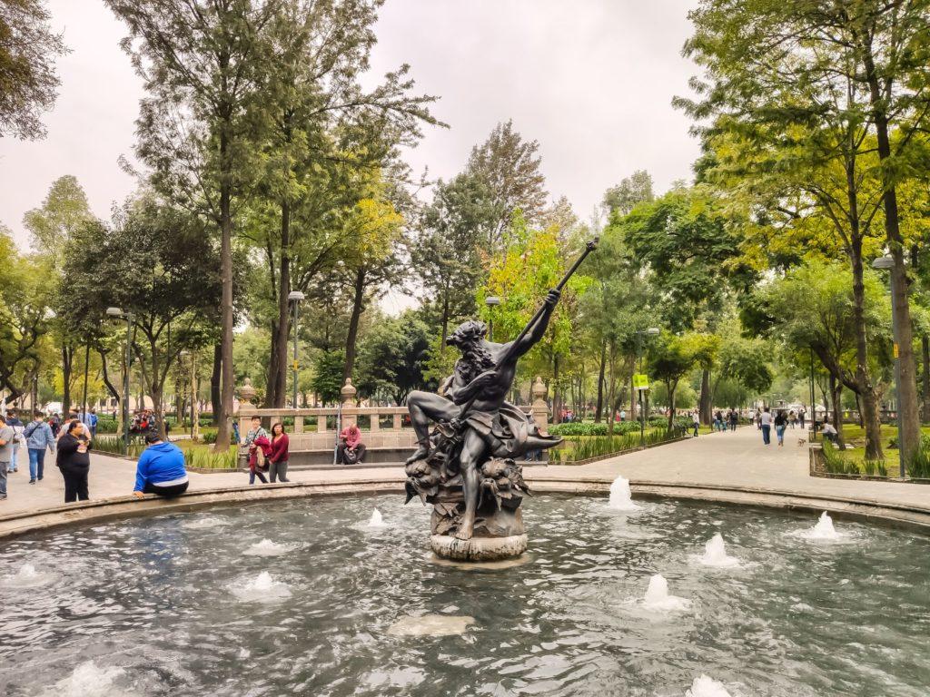 Парк Аламеда Централь (Alameda Central)