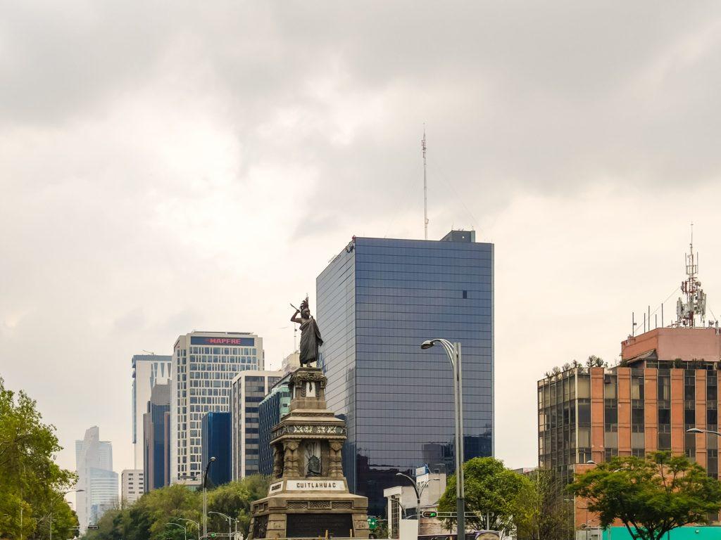 Факты о Мехико. Смог над городом