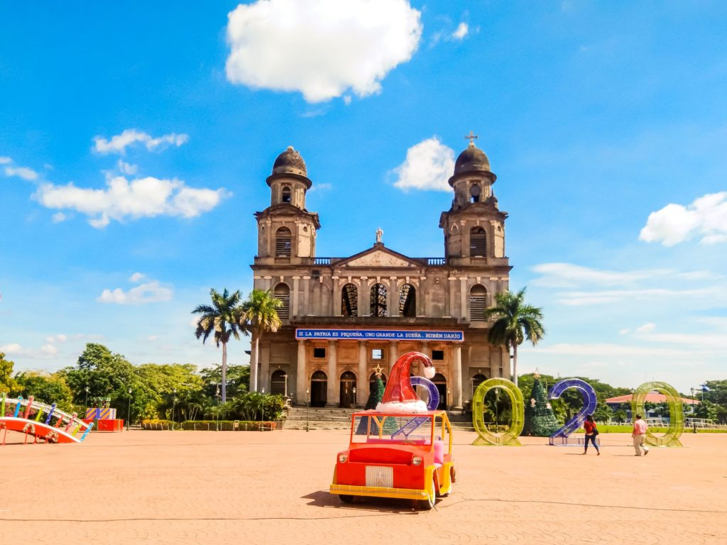 Манагуа кафедральный собор