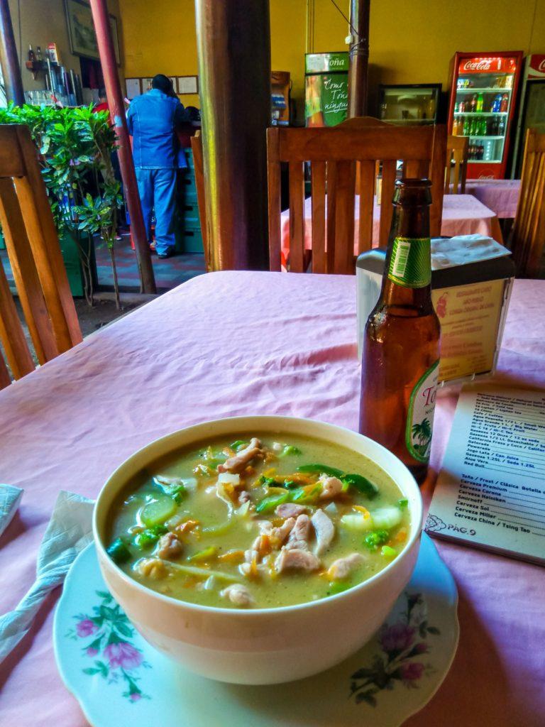 китайская кухня в Никарагуа