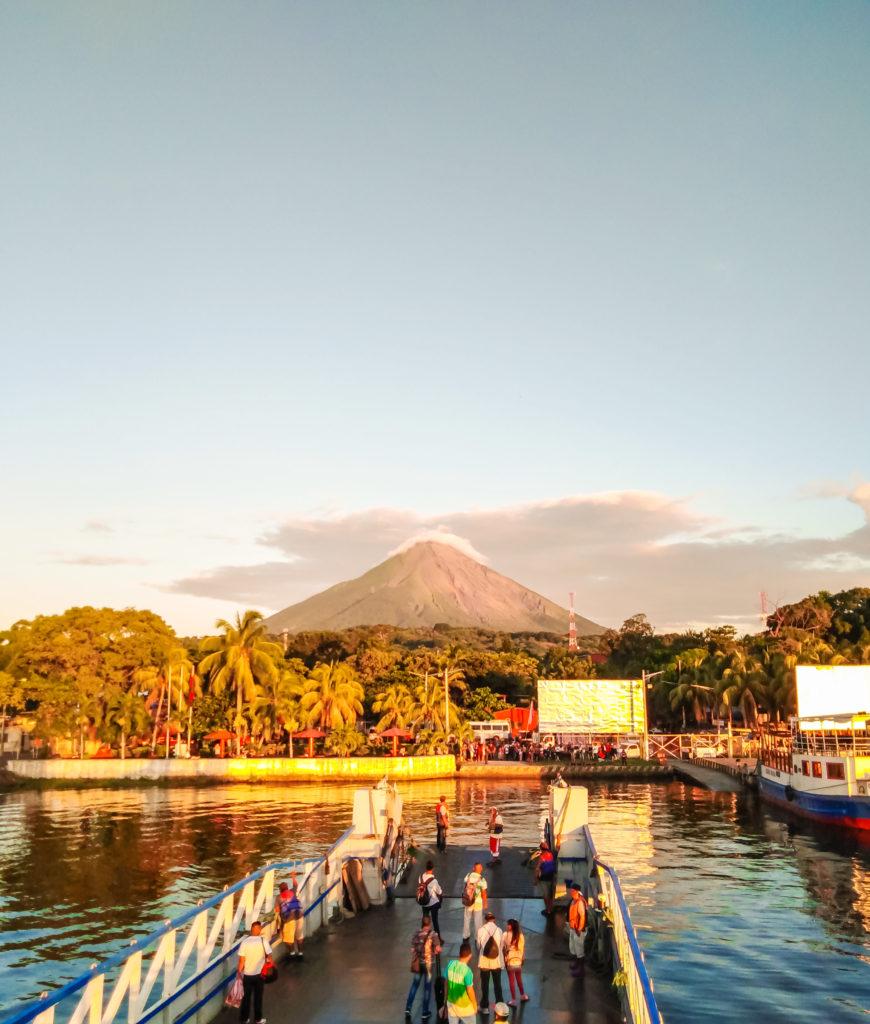 Ометепе вулкан Консепсьон