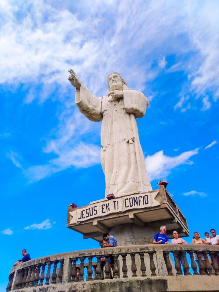 Сан-Хуан-Дель-Сур статуя Христа