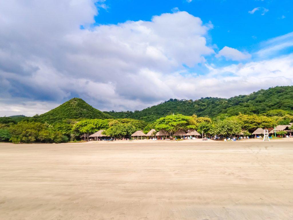 Пляж Hermosa бунгало