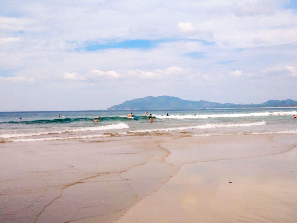 Коста-Рика океанский пляж