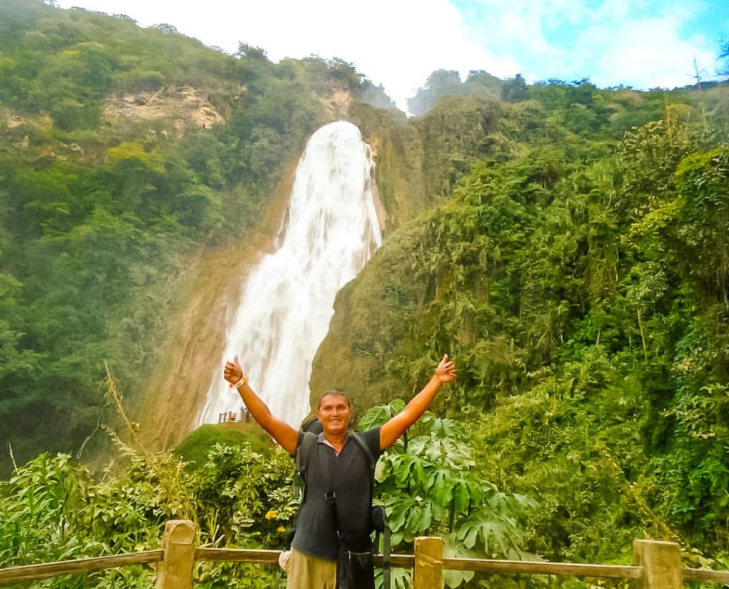 Чьяпас водопад Эль Чифлон