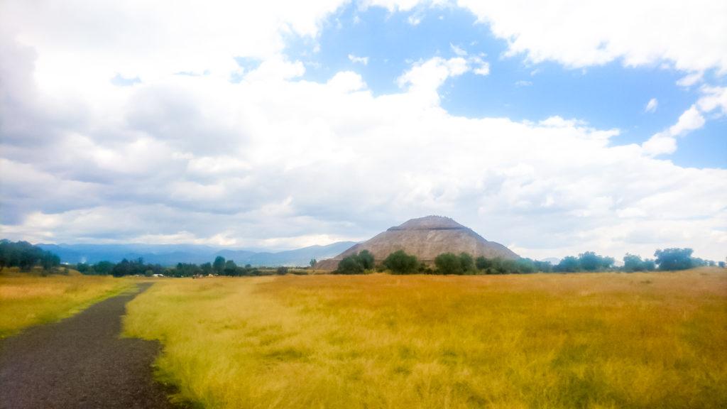 Теотиукан Пирамида Солнца