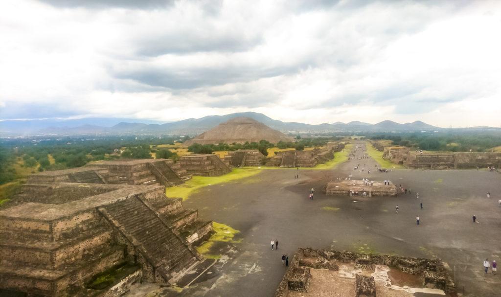 Мексика пирамиды Теотиукана