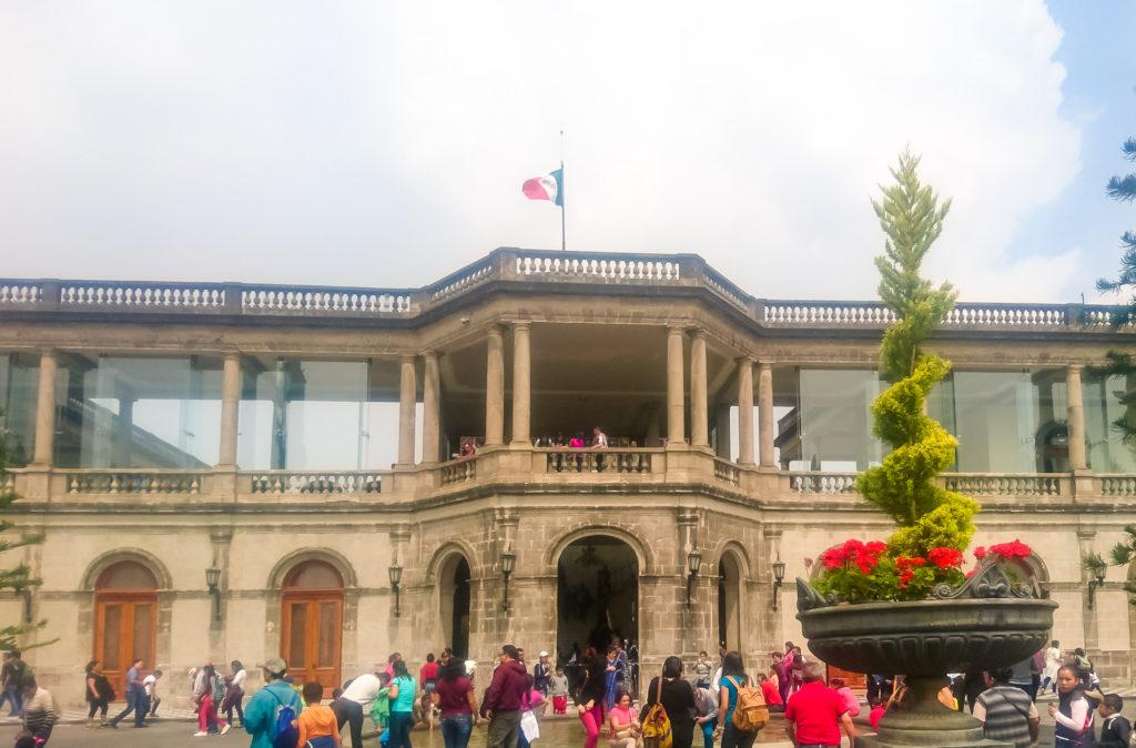Чапультепек дворец